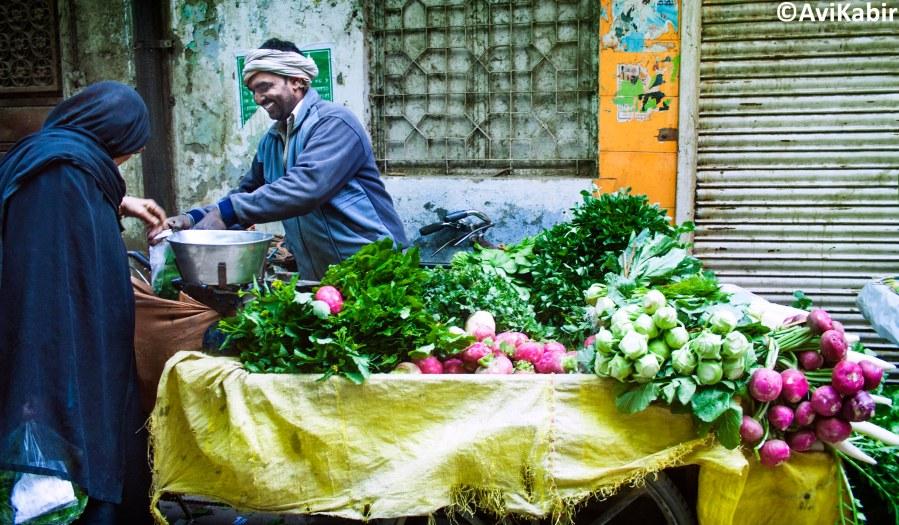 Sabzi-Wallah: Veggie Vender
